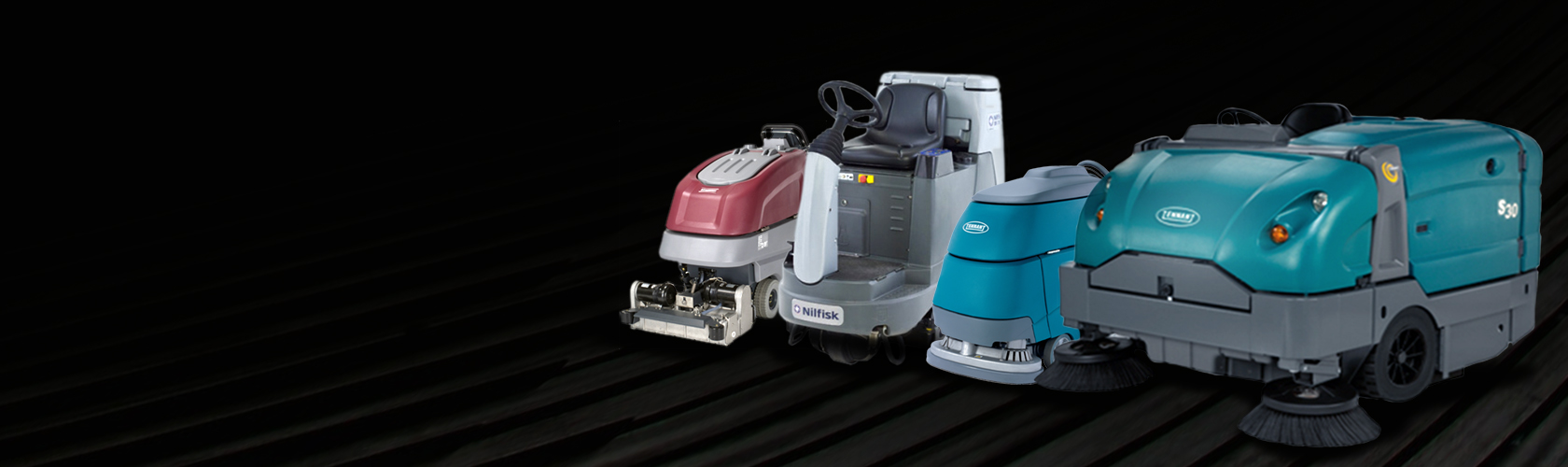 Certified Pre-Owned Sweepers and Scrubbers.